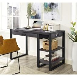 48 in. Computer Desk in Charcoal