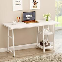 "Tribesigns 55"" Large Computer Desk, Modern Writing Desk PC L"