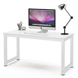 "Tribesigns Computer Desk, 55"" Large Office Desk Computer Tab"