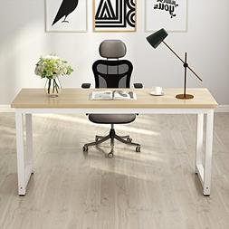 """Tribesigns Computer Desk, 63"""" Large Office Desk Computer Tab"""