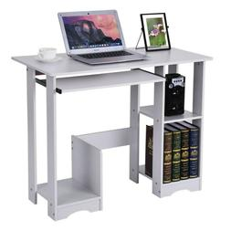 Computer Desk Black Table Small Home Office Laptop Compact P
