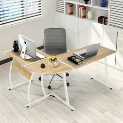 Computer Desk Furniture Modern L-Shaped Desk Corner Computer