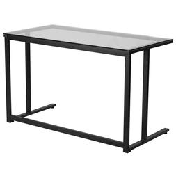 Flash Furniture Computer Desk with Pedestal Frame