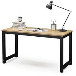 """Tribesigns Computer Desk, 55"""" Large Office Desk Computer Tab"""