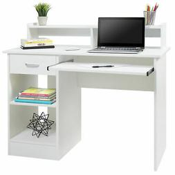 Computer Desk Home Office Laptop PC Table Workstation w/ Dra