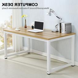 Computer Desk PC Laptop Table Wood Workstation Study Home Of