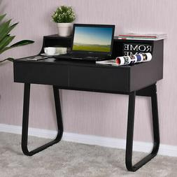 Computer Desk PC Laptop Study Writing Table Workstation w/ 2