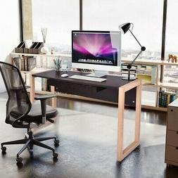 Computer Desk PC Laptop Table Wood Writing Workstation with