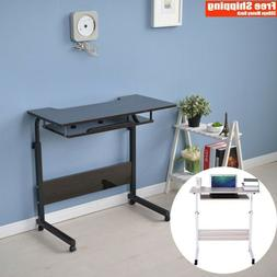 Computer Desk Table Small Home Office Laptop Compact Printer
