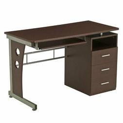 Techni Mobili Computer Desk With Ample Storage