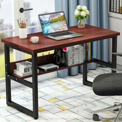 computer desk with bookshelf 47 55 63