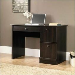 Pemberly Row Computer Desk with Keyboard Tray in Cinnamon Ch