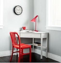 Computer Desk For Small Spaces Writing Corner White Home Off