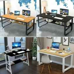 Wood Computer Gaming Desk Laptop Table Workstation Home Offi