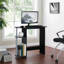 Mainstays Computer Laptop Desk with Built-in Shelves Home Of