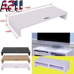 computer monitor stand desk table 2 tier
