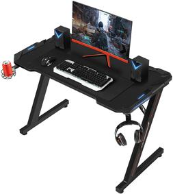 computer racing gaming desk home office desk