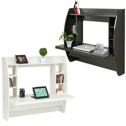 Coner Computer Desk Wall Mount Floating Desk Storage Shelf H
