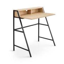 CONRAD Home Office Study Computer Desk with Shelf, Open Stor