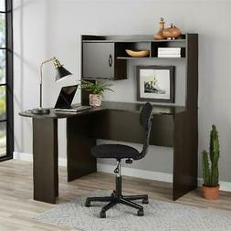 Corner Computer L-Shaped Desk with Hutch Office Student Stud