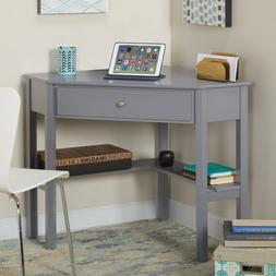 Corner Desk, Computer Desk- Home Office w small shelf /Porch