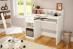 Desk For Girls Small Spaces White Teen Student Kids Writing