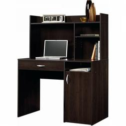 Desk with Hutch Computer Writing Cinnamon Cherry Student Hom