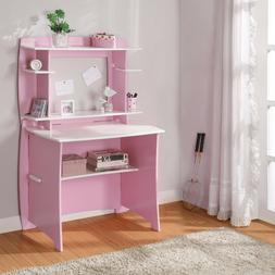 Desks For Girls Computer Desk With Hutch Small Spaces Kids B