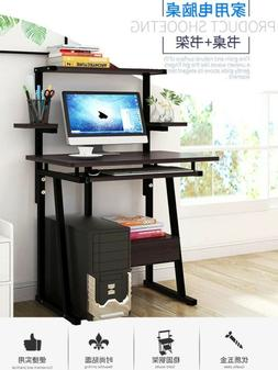Desktop Computer Desk Laptop Study Table Office Desk With Pu
