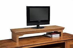 Desktop Monitor Riser TV Stand Desk Organizer Storage Box Fo