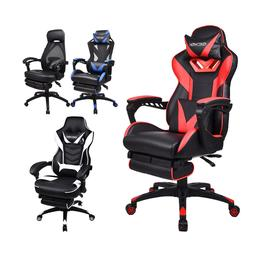 Ergonomic Computer Gaming Chair Adjustable Swivel Recliner O