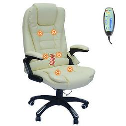 Executive Office Massage Chair Ergonomic Heated Vibrating Co