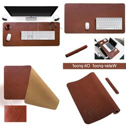 Yikda Extended Leather Gaming Mouse Pad/Mat LARGE Office Wri