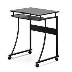 Furinno FCG295EX Besi Metal Frame Computer Desk with Keyboar