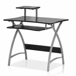Furinno FNBL-22005 Besi New Office Computer Desk, Black