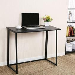 Foldable Computer Laptop Desk Study Table Home Office Workst