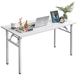 AUXLEY Folding Computer Desk Modern Simple Writing Desk for