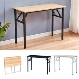 folding computer desk pc laptop table study