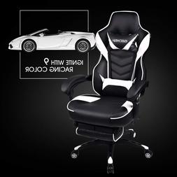 High Back Gaming Chair Racing Style Ergonomic Office Compute
