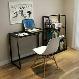 Folding Desk Corner Computer Writing Laptop Table Workstatio