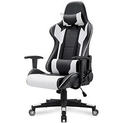 Homall Gaming Chair Racing Office Chair High Back Computer D