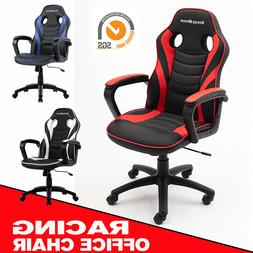 gaming chair racing style pu leather office