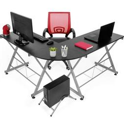 Gaming Computer Desk L Shaped Sewing Machine Table Home Offi