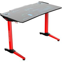 Kinsal Gaming Computer PC Desk Office Student Table with Fig
