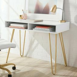 Mainstays Hairpin Writing Desk Home Desk Computer Desk For A