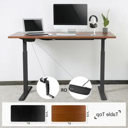 Height Width Adjust Electric/Manual Standing Desk Frame Comp