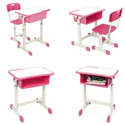 High Grade Student Desk and Chair Set Study Furniture Adjust