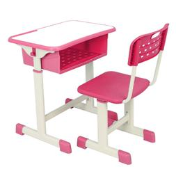 High School Student Adjustable Writing Table Computer Desk a