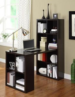 Bookcase Craft Desk Hobby Table Storage Home Office Computer