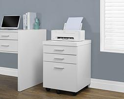 Monarch Hollow-core File Cabinet in White
